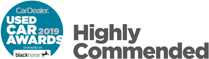 Used Cars Awards 2019 - Highly Commended